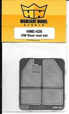 Highlight Model Photo Etch VW Floor Mat Set in 1/24 HMO 026  For Tamiya  ST