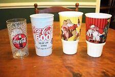 COCA-COLA 600 Nascar Race Cup, White Castle, Acrylic Cup (4 cups)