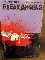 SIGNED FreakAngels Volume 3 by Warren Ellis & Paul Duffield Hardcover HC Limited