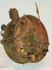 Mécanisme Mouvement de pendule horloge pour pièces ou à restaurer XIXème