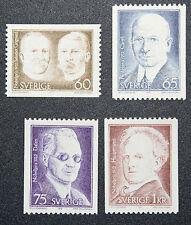 Timbre SUÈDE - Stamp SWEDEN - Yvert et Tellier n°765 à 768 n** (cyn15)