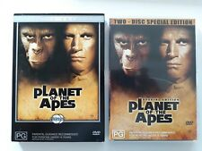 PLANET OF THE APES / AUSTRALIAN RELEASE / DOUBLE DVD / REGION 4 / 1968