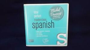 MICHEL THOMAS SPANISH - TOTAL PERFECT To MASTERCLASS 18 CD COLLECTION