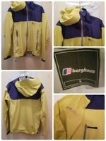 Berghaus Velum Jacket Mens Size Small Hooded Packable Colorblock Performance