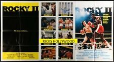 Original 1979 ROCKY II One Stop Subway Advance 41 x 76 1/2 SYLVESTER STALLONE
