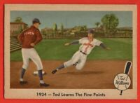 1959 Fleer #4 Ted Williams EX-EX+ Hall of Fame Boston Red Sox FREE SHIPPING