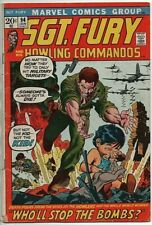 Marvel Comics Sgt. Fury and his Howling Commandos #94 GD/VG Jan. 1972