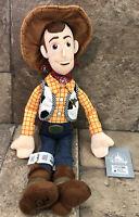 "Authentic Disney Parks Sheriff Woody 18"" Plush Doll Toy Story Pixar NWT"