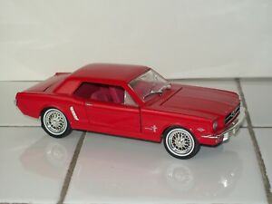 1964 Ford Mustang Hard Top ~ Die-Cast Toy Car ~ Arko Products