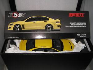 1/18 BIANTE HOLDEN COMMODORE HSV E3 GTS HERON YELLOW 25th ANNIVERSARY   BR18404C