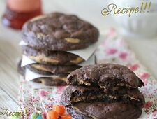 "2 Chocolate Fudge Peanut Butter Cookie Stuffed Cookies ""RECIPE""☆Sink U'reTeeth!☆"