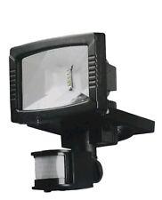 LivarnoLux 8.5W LED Outdoor Spotlight Black