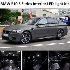 2018 PREMIUM BMW F10 5 Series FULL LED Light UPGRADE WHITE XENON Interior KIT