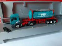 MAN TGA  WTK Wittner Transport Kontor Hr. Stratmann  58455 Witten 25 FT Cont.