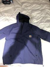 Carhartt Nimbus Summer Pullover Jacket Navy Xl Vvgc