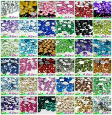 1000 PCS Crystal Flatback Acrylic Rhinestones Beads Nail Art/Craft 2-12MM