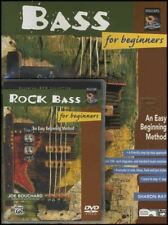 Bass Guitar for Beginners TAB Music Book with DVD Learn How To Play Method
