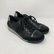 ara Luftpolster Womens Black Fashion leather Sneaker Size 8 (14004160)