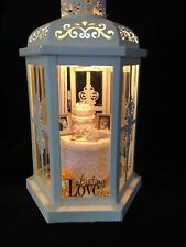 50th wedding anniversary gift personalized lighted lantern miniature creations