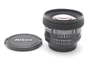 【TOP MINT】Nikon AF Nikkor 20mm f/2.8 Wide Angle Lens For F Mount From JAPAN