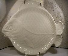 "VERY FINE RARE EARLY ANTIQUE LENOX PORCELAIN 11.5"" FISH SERVING PLATE DISH MINT"