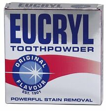 EUCRYL Original Flavour Powerful Stain Removal Toothpowder 50g x2