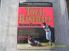 TOTAL  BASEBALL  2ND  EDITION  BOOK (1991)