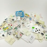 Button Lot replacement singles Carded Sewing Crafts Le Bouton Mixed Lot
