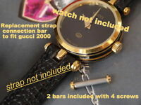 REPLACEMENT  BAR FOR GUCCI MEN LADY strap band 2000 2000L 2000M 2000 M 2000 L