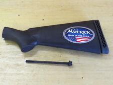 New Maverick 88 Mossberg 500 Shotgun Stock. Black. Vent Butt Pad