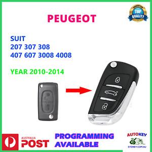 PEUGEOT 3008 4008 207 308 307 407 607 REMOTE FLIP KEY  SUITS 2010-2014