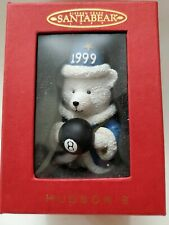 "Dayton Hudson 1999 Fifteen Years ""Santa Bear"" Ornament Wizard 8 Ball Nib"