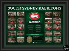 South Sydney Rabbitohs Historical Series Framed Licensed Product