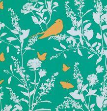 Rowan Fabrics  Joel Dewberry PWJD070 Bungalow - Swallow Study - Emerald -  BTY