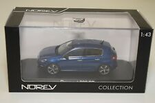 TT 1:43 NOREV 473826 PEUGEOT 308 GT 2014 METALLIC MAGNETIC BLUE MINT BOXED
