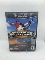 Tony Hawk's Pro Skater 3 (Nintendo GameCube, 2001) With Manual CIB Complete