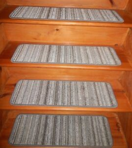 14  Step  9'' x 30'' + Landing 30'' x 30'' In/Outdoor Stair Treads Non-Slip .