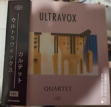 Ultravox – Quartet ( CD, Album, EMI – UICY-4968232 Mini LP Papersleeve)