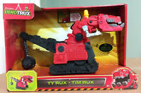 Dinotrux Sounds and Phrases Ty Rux 12-Inch Vehicle - USA SELLER! - VERY RARE!