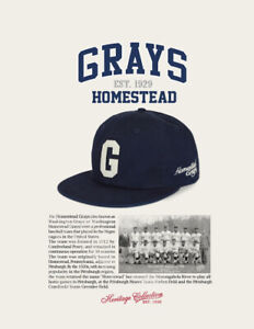 Grays Homestead Negro League Baseball Hat NLBM CAP