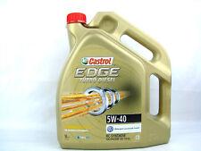 5liter Castrol EDGE 5w-40 Turbo Diesel Aceite 5w40 DE MOTOR VW BMW MB OPEL