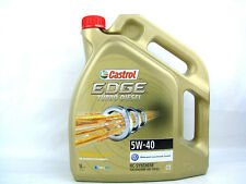 5liter CASTROL EDGE 5W-40 Turbo Diesel Olio 5w40 motore VW BMW MB OPEL AUDI