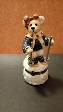 Boyds Bears Le Bearmoge Collection 392018 - Natasha Cc Journey Skis - With Box