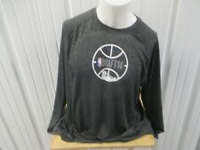 ADIDAS AUTHENTIC NBA DRAFT 2014 XL LONG SLEEVE CLIMA LITE GREY SHIRT ANDREW WIGG