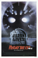 Friday the 13th Part VI 1986 27x41 Orig Movie Poster FFF-19067 Rolled Horror