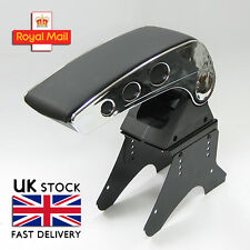 Universal Armrest Center Console Chrome Fits Honda Accord Civic CR-V CRX Jazz