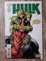Hulk 13 Deadpool Cover