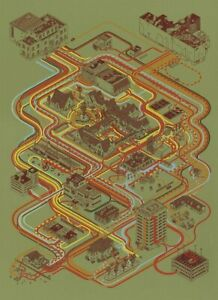Andrew Degraff - Paths Of Rushmore - Numbered - Movie Poster Print Mondo Obey