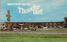 Vintage Postcard - Motel Thunderbird Hwy 30 West - Mountain Home Idaho