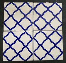 Vintage Hermosa 4 -Tile Set -Gladding McBean Mid Century